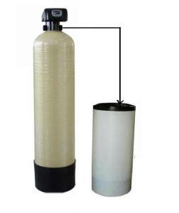 De Waterontharder /Water die van Chunke Voor de Behandeling van het Water zacht worden