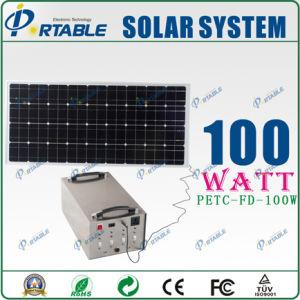 Использования солнечной энергии для питания семьи (PETC-FD-S100W)