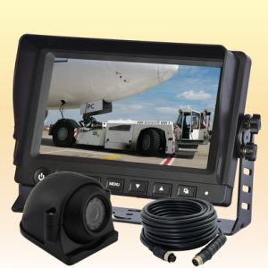 Sistema video da câmera alternativa da vista traseira para o carro da grão