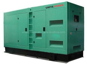 600kVA 480kw Doosan insonorisées générateur électrique du moteur diesel d'auvent (UDS600)
