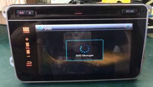 폭스바겐 Passat Navigation Free Touching를 위한 전기 용량 TFT Panel 8 Inch
