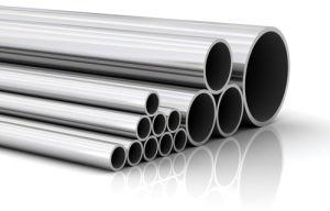 ステンレス鋼の継ぎ目が無い管