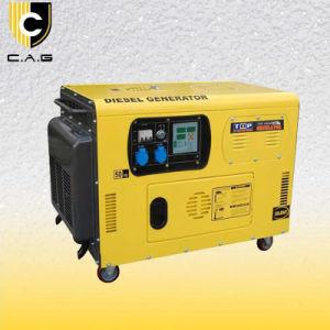 10kVA stille Diesel van het Type Generator (tp12000dgs-a)