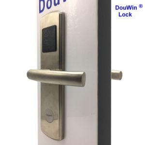 RFID 호텔 자물쇠 카드 프로그래머를 가진 나무로 되는 문 도난 방지 시스템