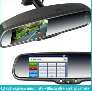 MultifunktionsRearview Mirror mit Multimedia Display und Auto Reversing System für Any Car