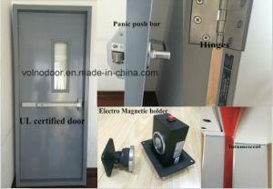 Puerta cortafuego de acero con certificación UL ferretería