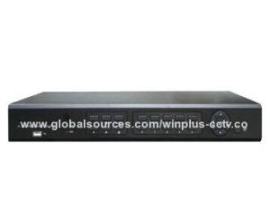 В режиме реального времени экономичный DVR поддерживает скрытие коммутации каналов