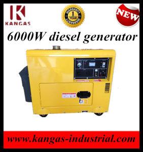 6 квт Silent Cumminis дизельный генератор для продажи