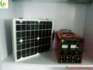 HandleのセリウムRoHS Certificationの15W Portable Solar System