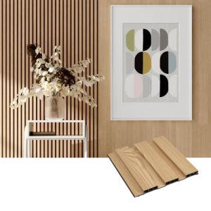 El panel de pared WPC Decoración de Interiores/WPC revestimiento