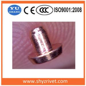 Серебристый Silver никеля медные контакты биметаллической пластины для коммутатора