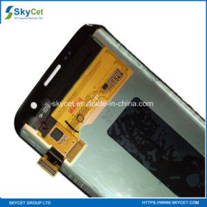 Grado original un teléfono móvil LCD para el borde de Samsung S7