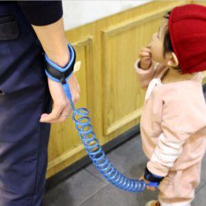 Bebé perdió contra la seguridad de la muñeca Link Harmess amarrar una cuerda a pie de la correa de mano para niños pequeños los niños