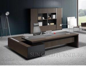 Design moderno Luxo Mesa de escritório Secretária Executiva do mobiliário de madeira