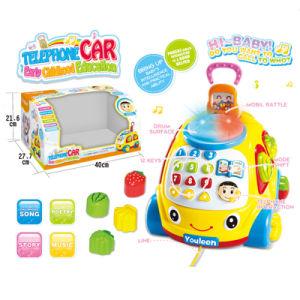 Brinquedo educativo brinquedo bebê carro de telefone (h10883001)