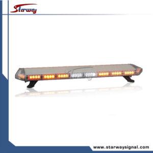 Lange LEIDENE van het Aluminium Veiligheid Lightbars/LEIDENE Tir die Lichte Staven (LED3530) waarschuwt