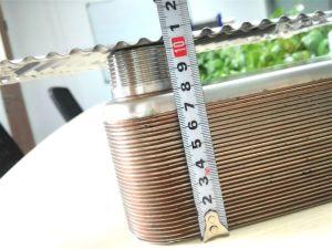 열 교환을 급수하는 공기를 위한 놋쇠로 만들어진 격판덮개 열교환기