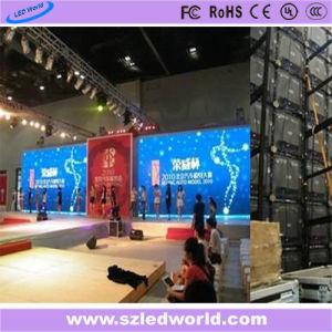 P6, P3 Indoor Location Die-Casting pleine couleur panneau LED affichage publicitaire (CE, RoHS, FCC, CCC)