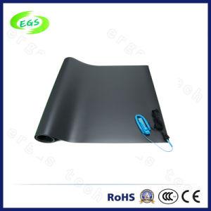 De blauwe/Grijze/Groene ESD Mat van de Lijst van China