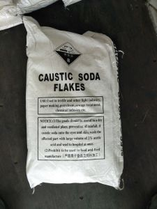 De Vlok van de Bijtende Soda van de hoge Zuiverheid voor het Maken van Zeep