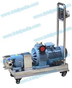 Acier inoxydable de haute viscosité rotatif de la pompe de transfert de matériel (AP-100A)