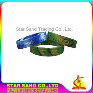 Migliore braccialetto di gomma professionale del silicone dell'OEM Debossing di qualità per gli sport