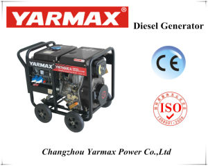 최고 질을%s 가진 4.8kVA Yarmax 열려있는 디젤 엔진 발전기