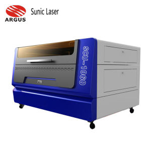 CO2 лазерная резка гравировка машины для кожи