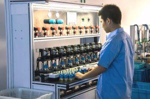 40mmの3ステップ流れの調整装置のディストリビューター(YLD40-13)のない熱いリミット制御陶磁器弁のカートリッジ