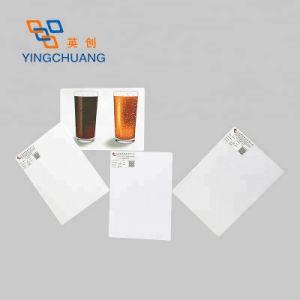 Les panneaux muraux de couleur de la mousse de PVC avec carte de qualité supérieure