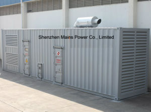 1500 Ква 1200 квт номинальной мощности контейнерный тип корпуса генератора дизельного двигателя Cummins