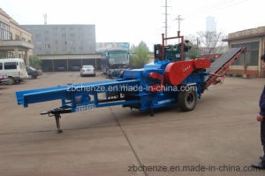 Mbi-216 Model 6-8t/H CanはForestのためのMobile Diesel Engine Wood ChipperまたはMobile Wood Chipperである
