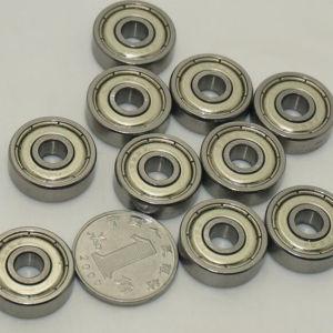 Acero al carbono de alta precisión el mecanismo de giro del rodamiento de bolas 608 el cojinete de Matata