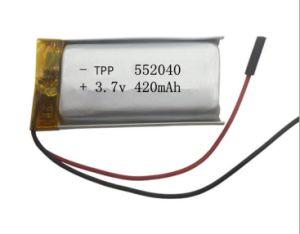 Bluetooth 건전지를 위한 고품질 Li 중합체 건전지 Tpp702040 500mAh