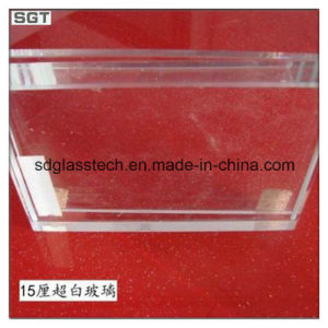 bril van de Veiligheid van 12mm de ultra Duidelijke Aangemaakte voor het Schermen van het Glas