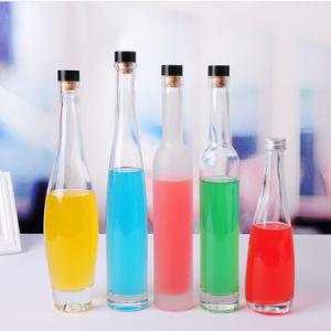 Großhandels330ml 375ml Glaseis-Wein-Flaschen-Mineralwasser-Flaschen-Getränkeglasflasche