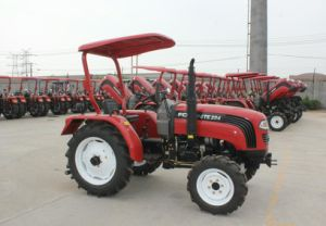 De vierwielige 25HP Tractor van het Wiel van het Landbouwbedrijf met Ce en EPA4F