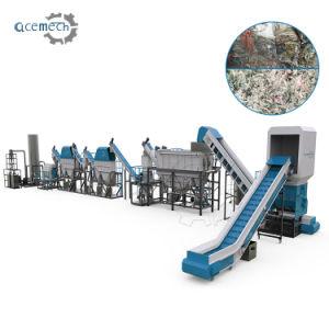 Полиэстер LDPE пластмассовых отходов переработки отходов производства завода стиральной машины