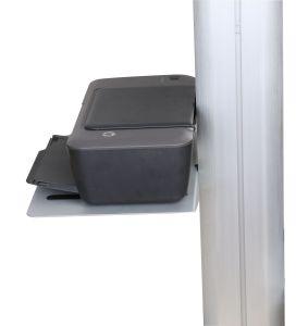 SPCC Silber/schwarzes Codec-/Drucker-Regal allgemeinhin für Kf Produkte
