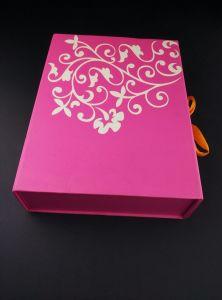 Set de Regalo cosmética de lujo en caja de almacenamiento con la bandeja de plástico