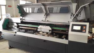熱い溶解の接着剤の4つのクランプ(JBT50-4D)が付いている完全な製本機械