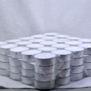 Großhandels12g Unscented weiße Tealight Kerze