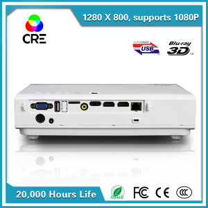 安い価格携帯用3DビデオDLPプロジェクター