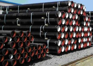 黒い鉄管の指定の別の価格の鋳鉄の管