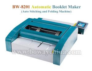 Gráfico de cópia recordações Desktop Electirc Note Book canto plano automático fio sela as máquinas de costura de grampeamento