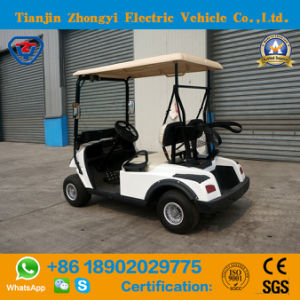 2 Lugares de venda quente Zhongyi carrinho de golfe com certificação CE