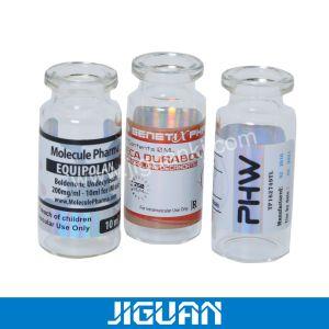 Gedruckter Duftstoff-transparentes Aufkleber-Rollenkosmetischer Aufkleber