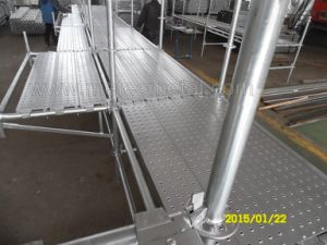 Impalcatura del sistema certificata SGS/TUV (Ringlock, blocco per grafici, Cuplock, plance)