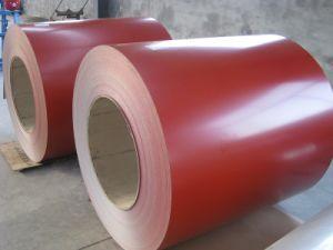 Bobinas de acero galvanizado prebarnizado/Color/PPGI bobinas de acero recubierto de bobinas de acero