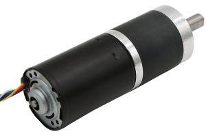 Micro electric DC 24V brushless motor de engrenagem